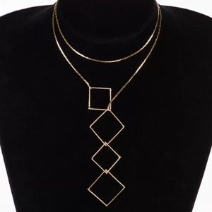 ✨✨Geometry Gold Necklace✨✨